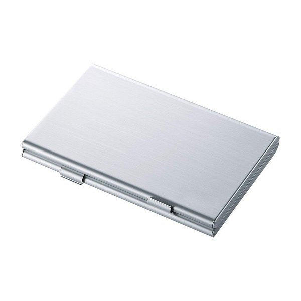 SDカードケース アルミ メモリーカード ケース SDカード用 両面収納タイプ デジカメ SDCARDCASE|aspace|05