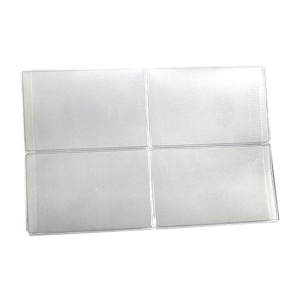 銀行カードカバー 50枚セット 財布 カード 整理 収納 大量 便利 クレジットカード 貴重品 ポイントカード GINKOC