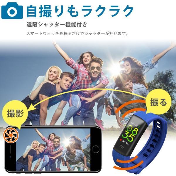 スマートウォッチ iPhone アンドロイド 日本語 対応  防水 着信 LINE 2019年新モデル B7 pro