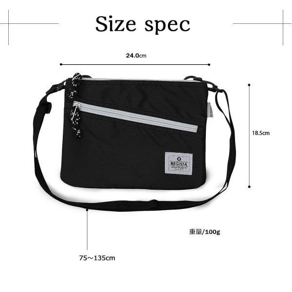 サコッシュ サコッシュバッグ ショルダーバッグ メンズバッグ 斜め掛けバッグ メンズ カジュアルバッグ デイリーユース 旅行 鞄 軽い 人気 バッグ|assistant|12