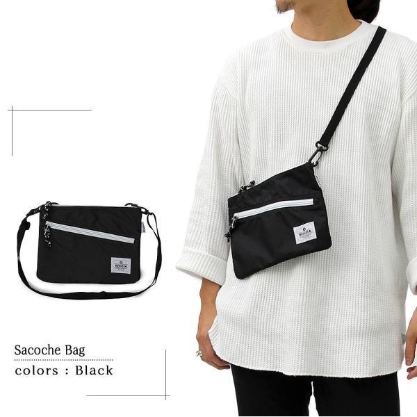 サコッシュ サコッシュバッグ ショルダーバッグ メンズバッグ 斜め掛けバッグ メンズ カジュアルバッグ デイリーユース 旅行 鞄 軽い 人気 バッグ|assistant|03