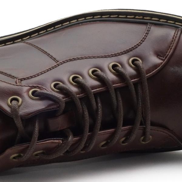 カジュアルシューズ メンズ ワークブーツ ショートブーツ 男性 靴  ブーツ|assistant|09