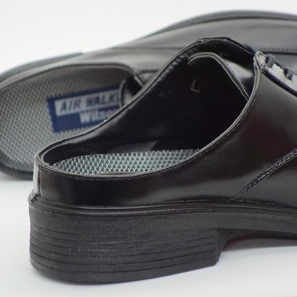 ビジネスシューズ サンダル メンズ かかとなし スリッパ 紳士靴 AIR WALKING assistant 03