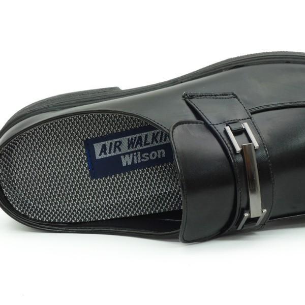 ビジネスシューズ サンダル メンズ かかとなし スリッパ 紳士靴 AIR WALKING assistant 08