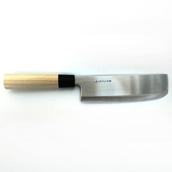 ●送料無料●菜切り包丁 170mm 白木柄「濃州正宗」日本製 関の包丁|assnet|02