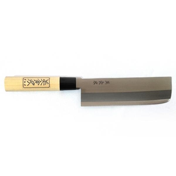 ●送料無料●菜切り包丁 165mm 全鋼 「美食家(グルメ)」 日本製 三条 訳アリ GK102|assnet|02