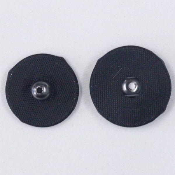 くるみスナップボタン 7mm 19(黒・BN) / 6セット NO.1508  (縫い付けタイプ) ボタン 手芸 通販