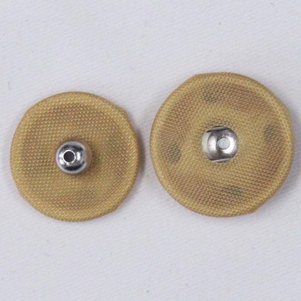 くるみスナップボタン 14mm 242(カラシ・Ni) / 6セット NO.1508  (縫い付けタイプ) ボタン 手芸 通販