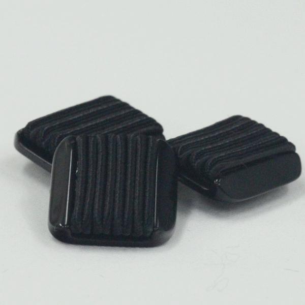 アンティークボタン 15mm ブラック コードボタン 専門店用の高級ボタン ボタン 手芸 通販