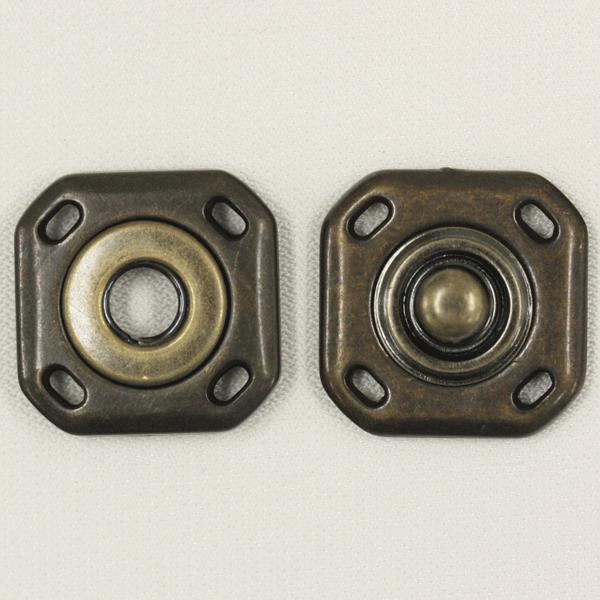 スナップボタン 23mm AG(アンティックゴールド) / 1セット ASP0003  (縫い付けタイプ) ボタン 手芸 通販