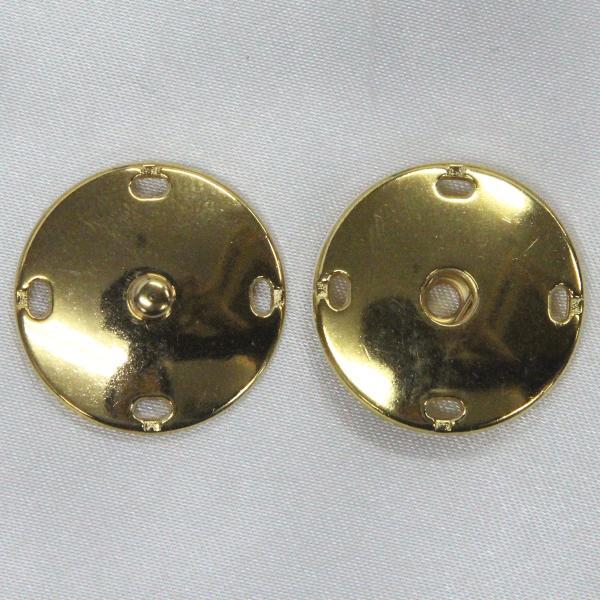 スナップボタン 25mm G(ゴールド) / 1セット ASP0009  (縫い付けタイプ) ボタン 手芸 通販