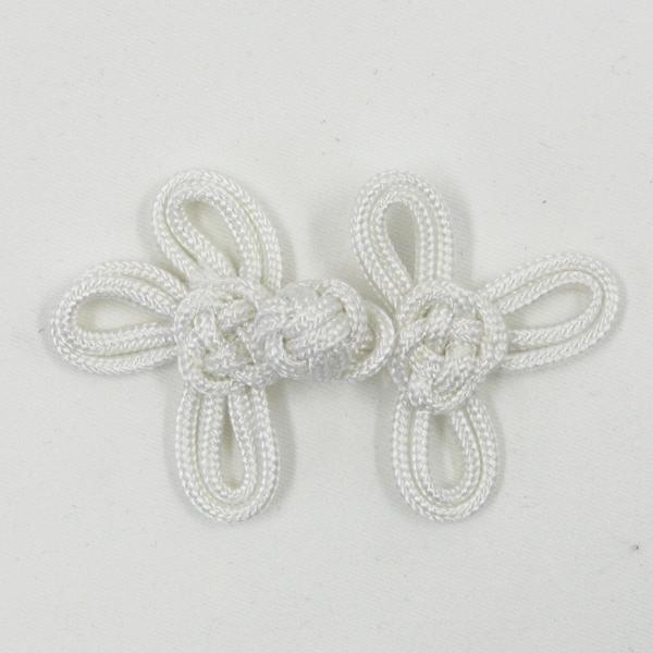 チャイナボタン  AZP6150(白・ホワイト) 1個入 (コードボタン) ボタン 手芸 通販