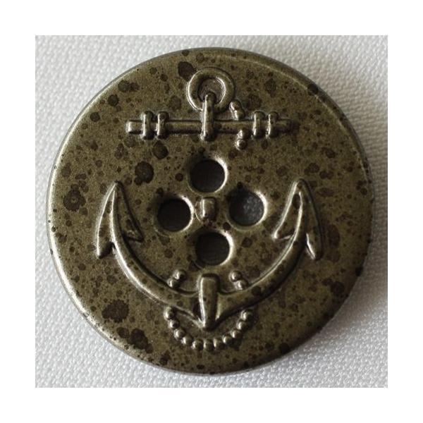 ボタン 手芸 通販  MA2267F-ARC 21mm / メタルボタン