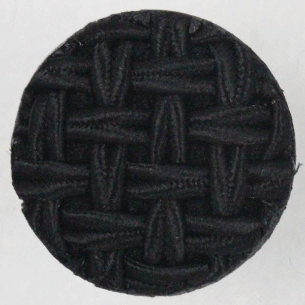 コードボタン  G9927-09(黒・ブラック) 15mm 1個入 (フォーマル向) ボタン 手芸 通販