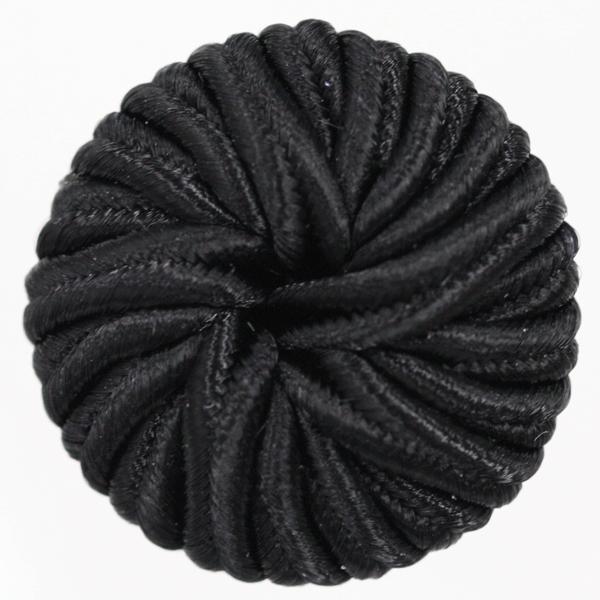コードボタン  G9943-09(黒・ブラック) 18mm 1個入 (フォーマル向) ボタン 手芸 通販