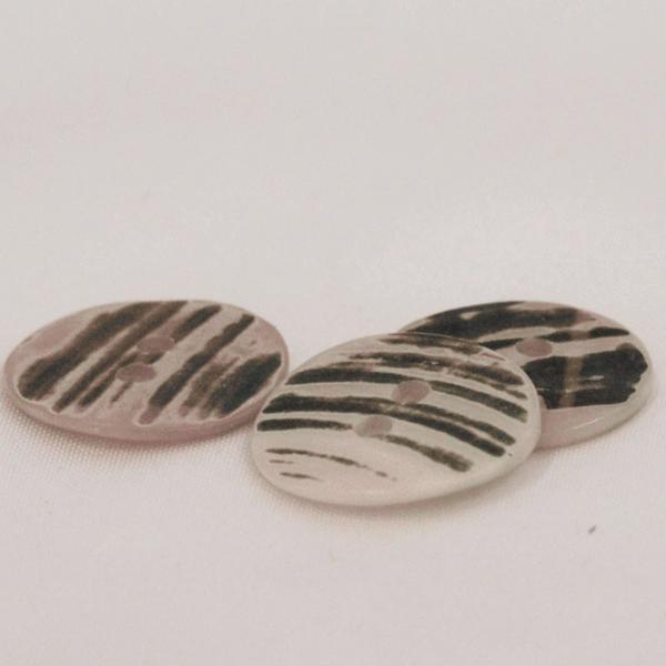 貝ボタン (アワビ) 25mm 1個入 天然素材 SSO4 (ジャケット・コート向) ボタン 手芸 通販