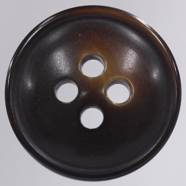 プラスチックボタン 44(茶系) 23mm 1個入 (ナット調) VT128 (ジャケット・コート向) ボタン 手芸 通販