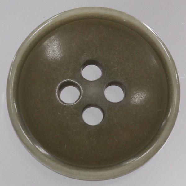 プラスチックボタン 42(茶系) 25mm 1個入 (ナット調) VT52 (ジャケット・コート向) ボタン 手芸 通販