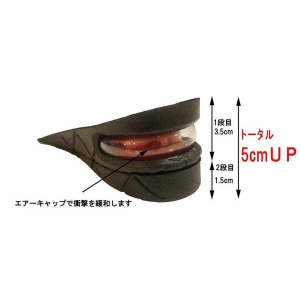 シークレット インソール 2段 +5cmのおしゃれ 革靴 長靴 ブーツ ムートンブーツ 02P05Nov16