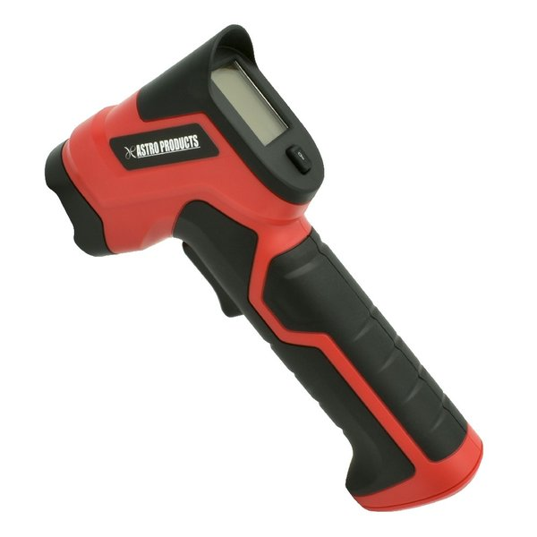 AP 放射温度計   非接触 赤外線 温度計 サーモメーター バックライト 低温 高温 エアコン タイヤ サーキット 非接触式温度計 気温 測定 路面 デジタル アストロ