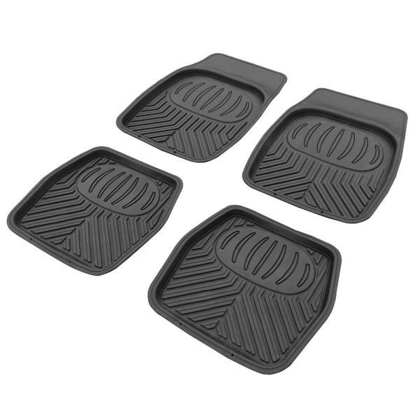 AP立体型カーフロアマットセット(4枚組) 車内汚れ内装足元カーマット  アストロプロダクツ