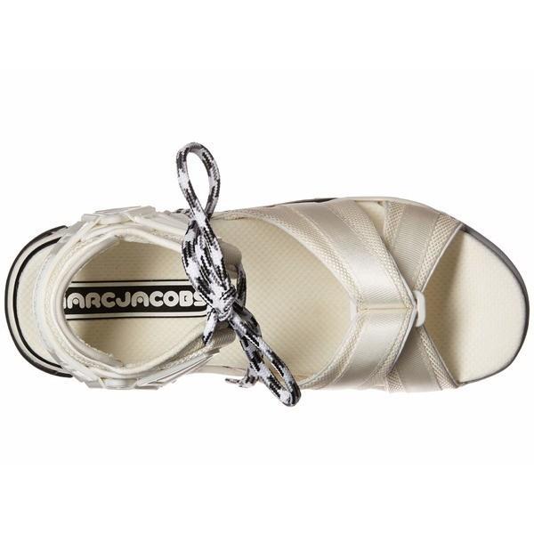 マークジェイコブス サンダル シューズ レディース Somewhere Sport Sandal with Sock White Multi