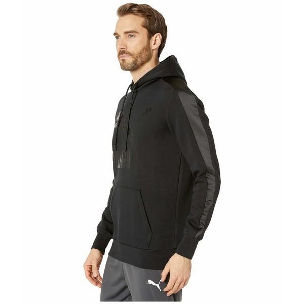 プーマ パーカー・スウェットシャツ アウター メンズ Luxe Pack Hoodie Black|asty-shop2|02