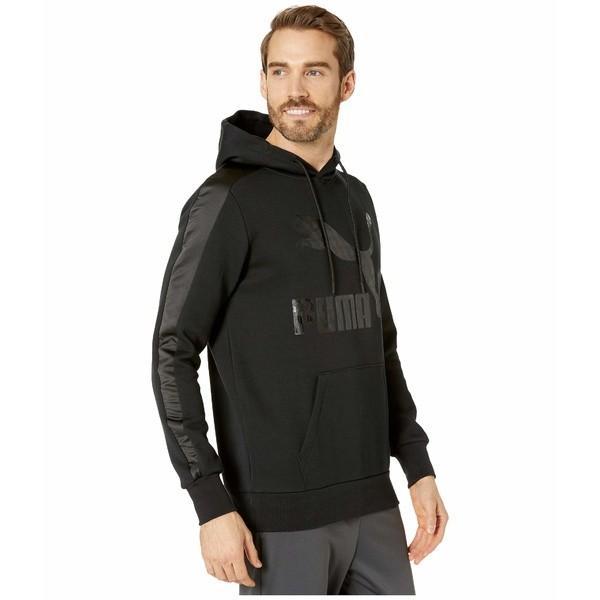 プーマ パーカー・スウェットシャツ アウター メンズ Luxe Pack Hoodie Black|asty-shop2|04