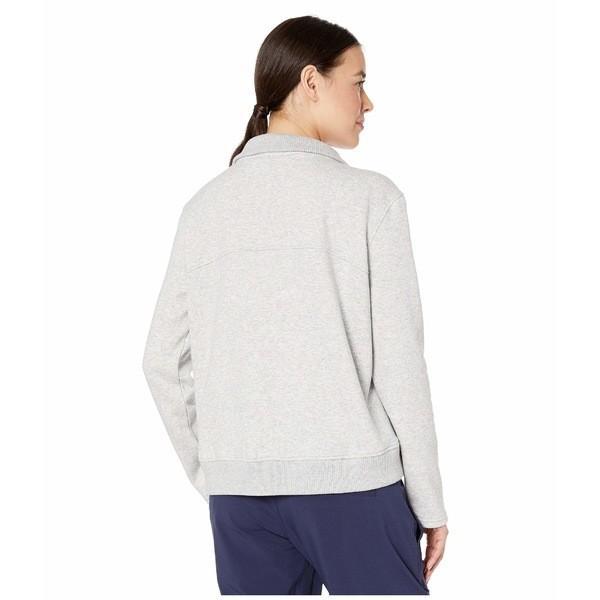 プーマ パーカー・スウェットシャツ アウター レディース Cozy Neck Fleece Light Gray Heather asty-shop2 03