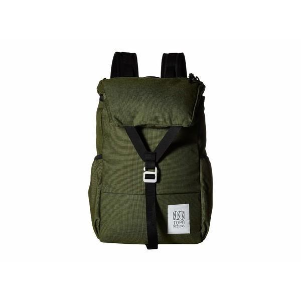 トポ・デザイン バックパック・リュックサック バッグ メンズ Y-Pack Olive 1