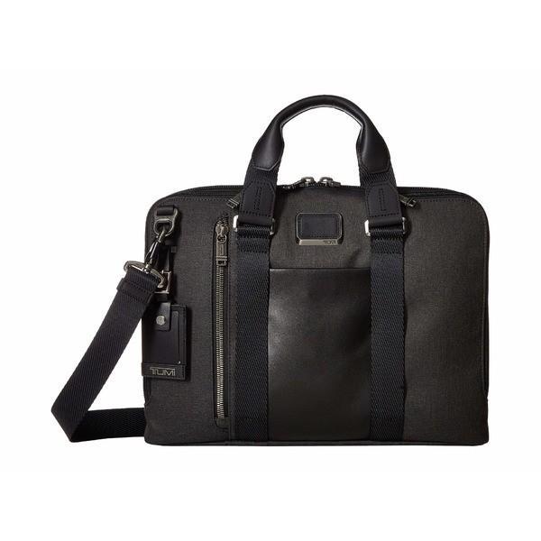 トゥミ ビジネス系 バッグ メンズ Alpha Bravo Aviano Leather Slim Brief Graphite