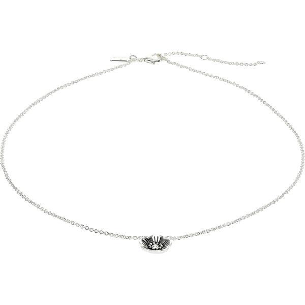 コーチ ネックレス・チョーカー・ペンダントトップ アクセサリー レディース Tearose Short Pendant Necklace Crystal