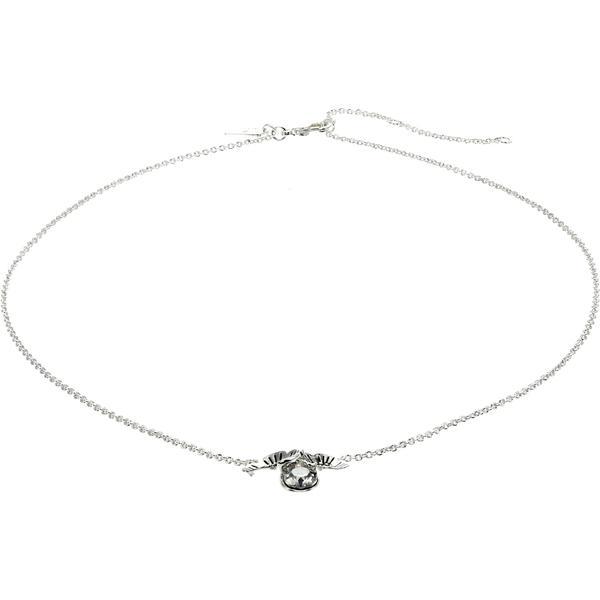 コーチ ネックレス・チョーカー・ペンダントトップ アクセサリー レディース Tearose Cluster Pendant Necklace Crystal