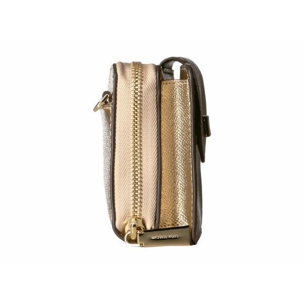 マイケルコース ハンドバッグ バッグ レディース Small Convertible Phone Crossbody Pale Gold