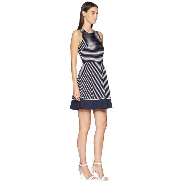 ケイト スペード ワンピース トップス レディース Stripe Ponte Dress Rich Navy/Off-White|asty-shop2|04