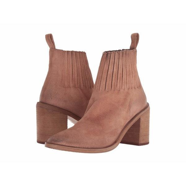 マルセル ブーツ&レインブーツ シューズ レディース Tapiro Leather Detail Chelsea Boot Flesh