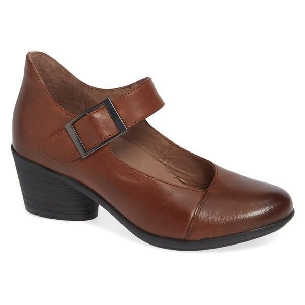 ダンスコ パンプス シューズ レディース Dansko Roxanne Pump (Women) Chestnut Leather