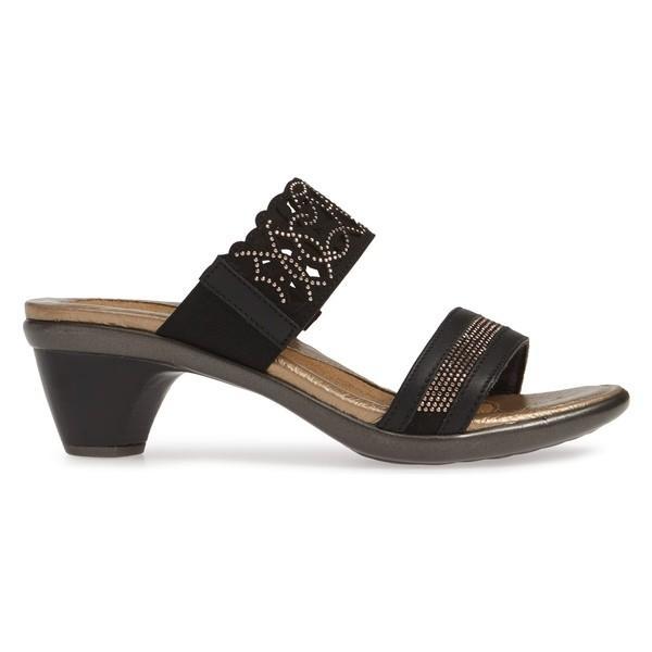 ナオト サンダル シューズ レディース Naot Contempo Slide Sandal (Women) Jet Black