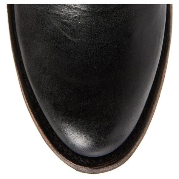 レーンブーツ ブーツ&レインブーツ シューズ レディース LANE BOOTS Plain Jane Knee High Western Boot (Women) Black Leather