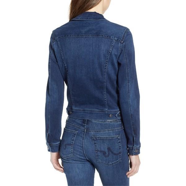 エージー ジャケット・ブルゾン アウター レディース AG Robyn Denim Jacket Pinnacle Blue