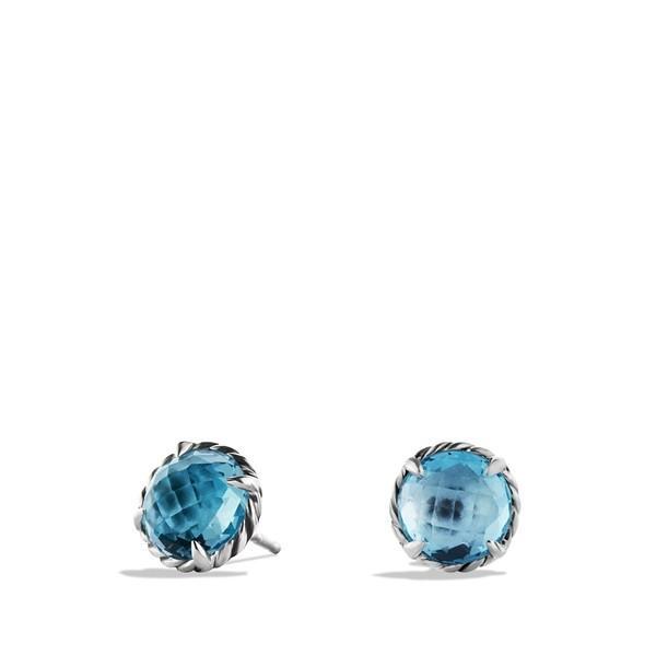 デイビット・ユーマン ピアス&イヤリング レディース David Yurman 'Chtelaine' Earrings Blue Topaz