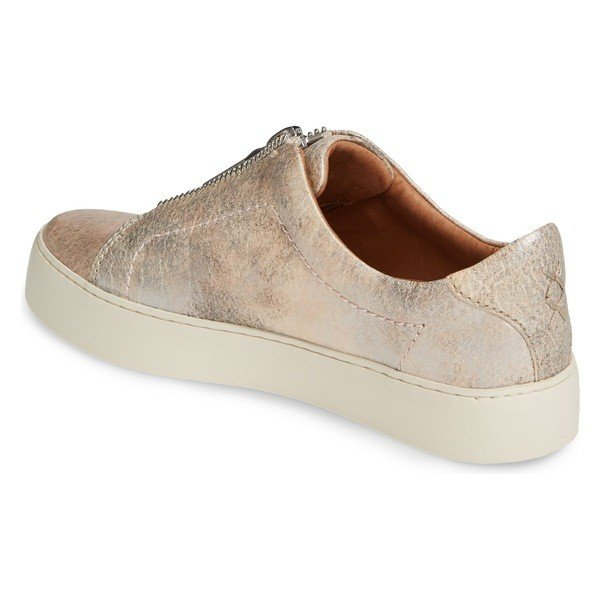 フライ スニーカー シューズ レディース Frye Lena Zip Platform Sneaker (Women) Moonlight