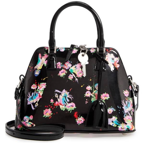 マルタンマルジェラ ハンドバッグ バッグ レディース Maison Margiela Mini 5AC Anim Convertible Bag Black
