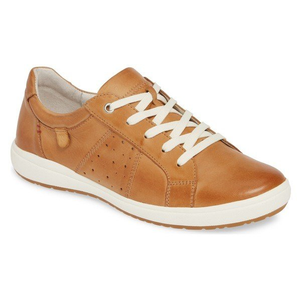 ジョセフセイベル スニーカー シューズ レディース Josef Seibel Caren 01 Sneaker (Women) Camel Leather