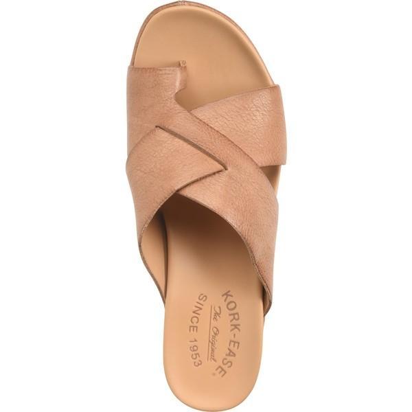 コークイーズ サンダル シューズ レディース Kork-Ease Baja Sport Slide Sandal (Women) Brown Leather