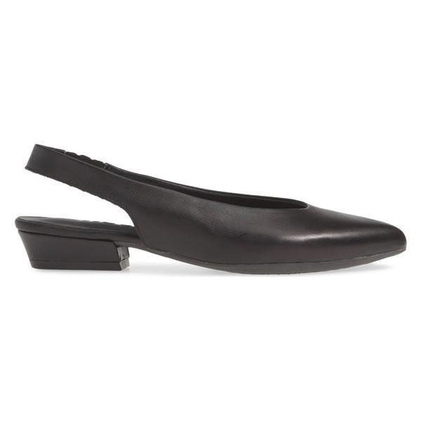 ザフレックス サンダル シューズ レディース The FLEXX Prato Slingback Pump (Women) Black Vacchetta Leather