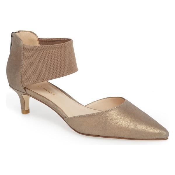 ペレモーダ ヒール シューズ レディース Pelle Moda Dezi Pump (Women) Platinum Leather