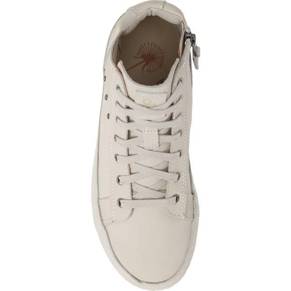 オーティービーティー スニーカー シューズ レディース OTBT Round Trip High Top Sneaker (Women) Dove Grey Leather