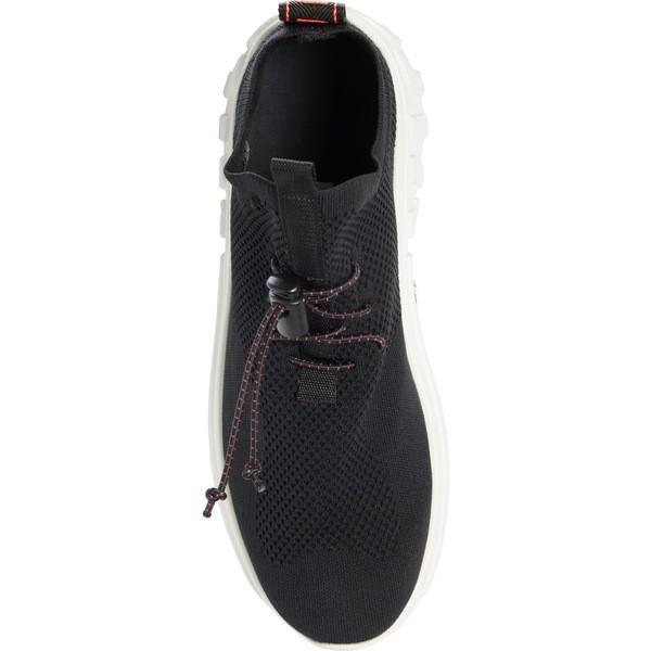ミュウミュウ スニーカー シューズ レディース Miu Miu XL Knit Sock Sneaker (Women) Black