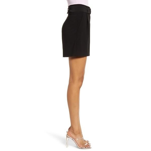 ライス カジュアルパンツ ボトムス レディース Leith High Waist Shorts (Regular & Plus Size) Black